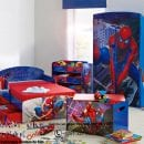 set kamar anak spiderman